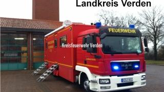 Der Landkreis Verden hält für größere Einsätze und Schadenslagen einen ELW 2 vor, ...