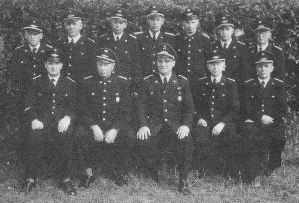 Unterkreisbrandmeister im Landkreis Verden im Jahr 1956